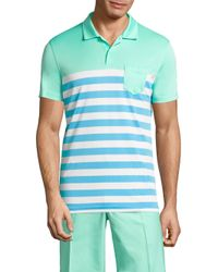 J.Lindeberg | Blue Carl Jersey Polo for Men | Lyst
