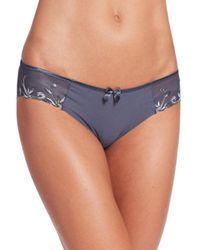 Simone Perele - Gray Andora Cotton Bikini - Lyst