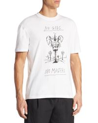 McQ Alexander McQueen - White Printed Tee for Men - Lyst