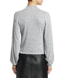 Rag & Bone - Gray Bigsby Knot Sweatshirt - Lyst