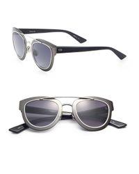 Dior | Black Chromic 47mm Cat's-eye Sunglasses | Lyst