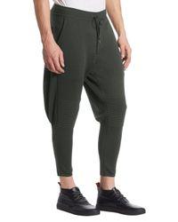 Issey Miyake - Multicolor Milan Wool Moto Sweatpants for Men - Lyst