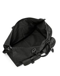 Hook + Albert - Black Waxed Canvas Weekender Bag for Men - Lyst