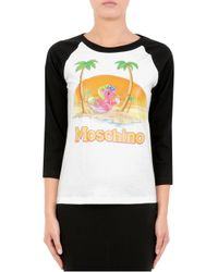 Moschino - Black My Little Pony Capsule Print Logo Shirt - Lyst
