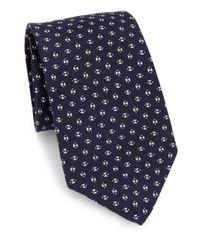 Ralph Lauren - Blue Cashmere & Linen Tie for Men - Lyst