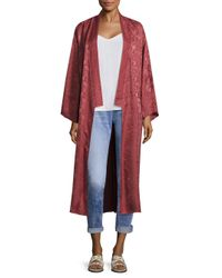 Elizabeth and James - Tracey Embroidered Kimono Jacket - Lyst