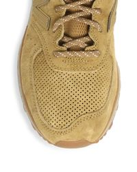 New Balance - Natural Suede Lace-up Sneaker - Lyst