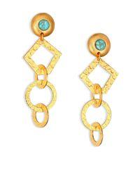 Stephanie Kantis - Metallic Volatile Drop Earrings - Lyst