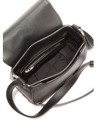 Alexander Wang - Black Lia Mini Leather Saddle Bag - Lyst