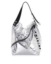 Proenza Schouler Medium Soft Metallic Hobo Bag in Metallic - Lyst 04c343f64766b
