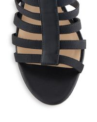 Saks Fifth Avenue - Black Deanna Caged Sandals - Lyst