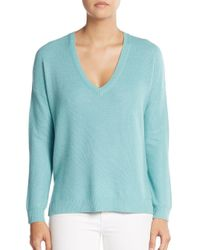 Joie | Blue Rudolpha V-neck Sweater | Lyst