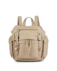 Steve Madden - Natural Broller Faux Leather Backpack - Lyst
