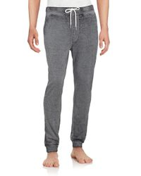 Threads For Thought | Gray Organic Cotton Blend Burnout Jogger Pants for Men | Lyst