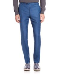 Éditions MR - Blue Tailored Wool Pants for Men - Lyst