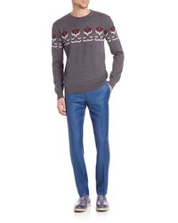 Éditions MR | Blue Tailored Wool Pants for Men | Lyst