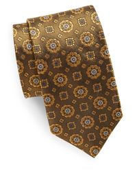Ike Behar | Green Woven Silk Tie for Men | Lyst