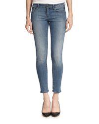 The Kooples - Blue Skinny Ankle Jeans - Lyst