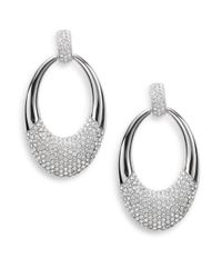 Swarovski | Metallic Degree Crystal Drop Earrings | Lyst