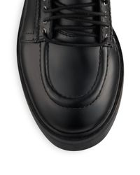Ash - Black Neal Leather Combat Boots - Lyst