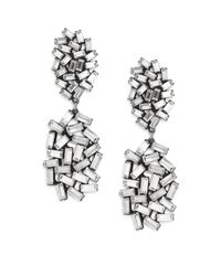 DANNIJO | Metallic Mayfield Earrings | Lyst