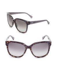 Diane von Furstenberg   Black Julianna 58mm Oversized Sunglasses   Lyst