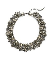 Saks Fifth Avenue | Multicolor Holiday Statement Crystal Necklace | Lyst