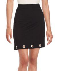Kensie | Black Solid Pencil Skirt | Lyst