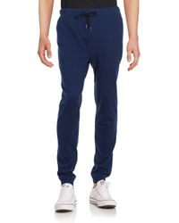 Threads For Thought | Blue Herringbone Cotton-blend Jogger Pants for Men | Lyst