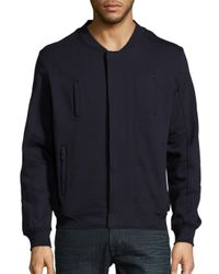Standard Issue | Blue Cotton-blend Long-sleeve Jacket for Men | Lyst