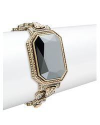 Heidi Daus | Metallic Solitare Crystal & Rhinestone Bracelet | Lyst