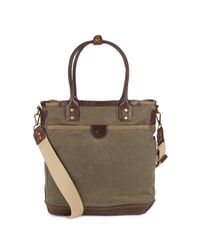 Will Leather Goods | Green Ramona Falls Leather Shoulder Bag for Men | Lyst