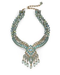 Heidi Daus - Multicolor Spellbound Jeweled Bead Necklace - Lyst