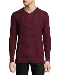 Vince Camuto - Purple Raglan Sleeves Sweater for Men - Lyst