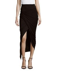 Young Fabulous & Broke - Black Sassy Ombre Skirt - Lyst