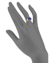 Marco Bicego - Metallic Jaipur 18k Yellow Gold & Lapis Lazuli Ring - Lyst