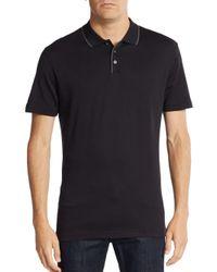 Robert Barakett - Black Georgia Cotton Polo Shirt for Men - Lyst