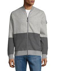 Tavik - Gray Civilian Baseball Jacket for Men - Lyst
