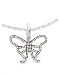 Ippolita - Metallic Ippolitini 0.39 Tcw Diamond & Sterling Silver Butterfly Charm Pendant - Lyst