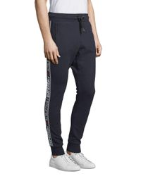 Superdry - Blue Stripe Joggers for Men - Lyst
