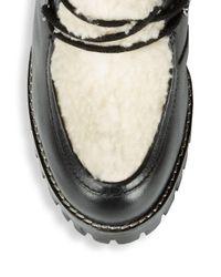 Seychelles - Black Transport Faux Shearling Boots - Lyst