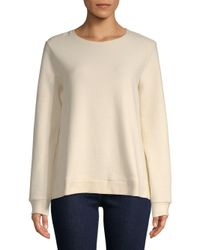 Eileen Fisher - Natural Ottoman Pullover - Lyst