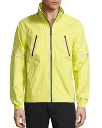 Revo - Yellow Detachable Hood Jacket for Men - Lyst