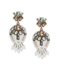 BaubleBar - Metallic Goldtone Stud Earrings - Lyst