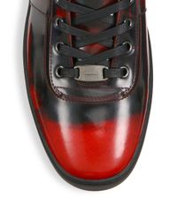 Bally - Multicolor Eroy Shiny Fume Leather Sneakers for Men - Lyst