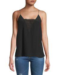 Bailey 44 - Black Bravura Sleeveless Silk Top - Lyst
