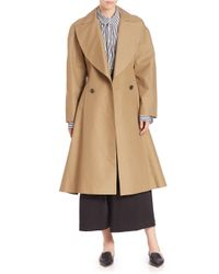 TOME - Natural Cotton Trench Coat - Lyst
