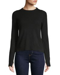 Zadig & Voltaire - Black Deby Cashmere Sweater - Lyst