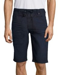 DIESEL - Blue Regular-fit Shorts for Men - Lyst