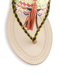 Antik Batik - Multicolor Tarata Tasseled Sandals - Lyst